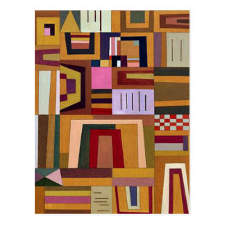Kandinsky - la compensation s'est levée carte postale