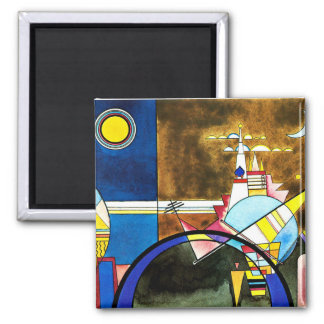 Kandinsky - la grande porte de Kiev Aimant