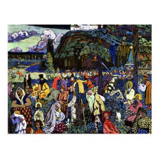 Kandinsky - la vie colorée cartes postales