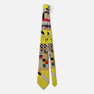 Kandinsky - peinture jaune cravate