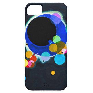 Kandinsky plusieurs cas de l'iPhone 5 de cercles