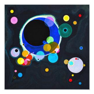 Kandinsky plusieurs invitations de cercles