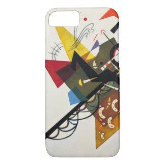 Kandinsky sur la peinture abstraite du blanc deux coque iPhone 7