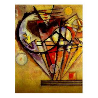 Kandinsky - sur les points carte postale