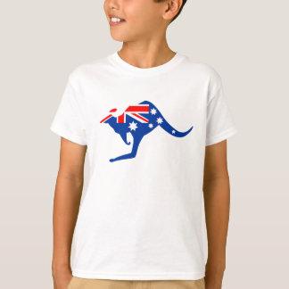 Kangourou australien t-shirt