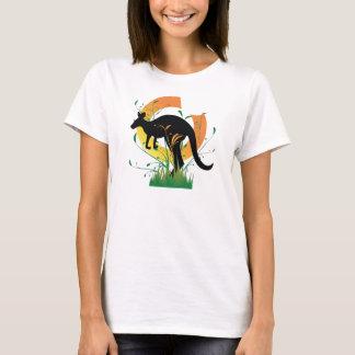 kangourou de houblonnage t-shirt