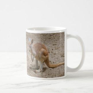 Kangourou Mug Blanc