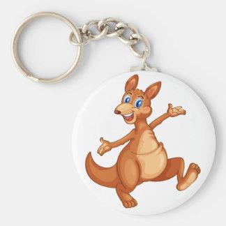 kangourou porte-clé rond