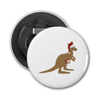 Kangourous mignons de Noël