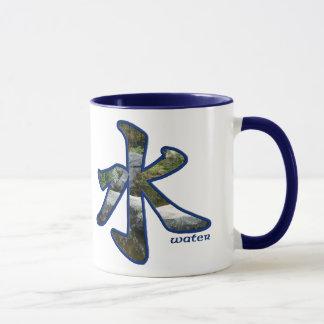 Kanji : L'eau - tasse #4