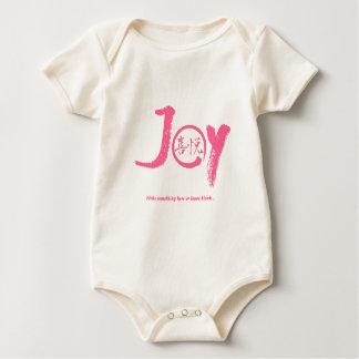 """Kanji rose de joie à l'intérieur de cercle """"joie"""" body"""