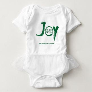 """Kanji vert de joie à l'intérieur de tutu de """"joie"""" body"""