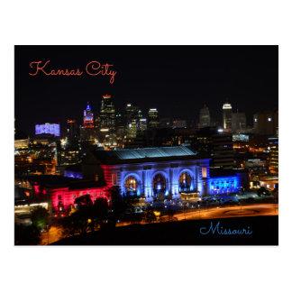 Kansas City, Missouri, station des syndicats Cartes Postales