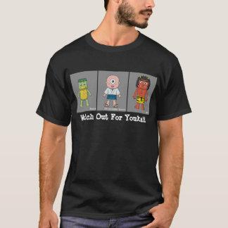 Kappa, Hitotsume-kozou, et Oni T-shirt