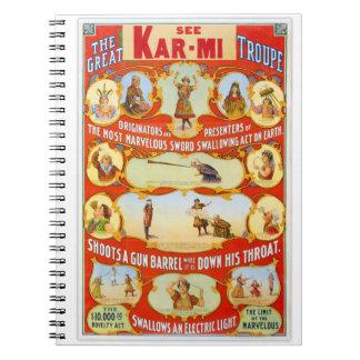 Kar-MI et les grands créateurs de troupe de Carnets À Spirale