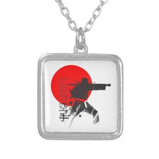 Karaté Japon Pendentif Carré
