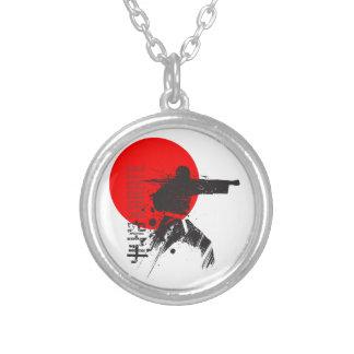 Karaté Japon Pendentif Rond