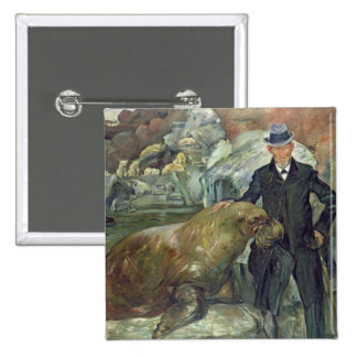 Karl Hagenbeck dans son Zoo, 1911 Badge