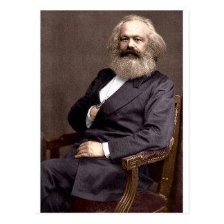Karl Marx Carte Postale