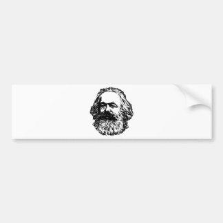 Karl Marx - communisme Autocollant De Voiture