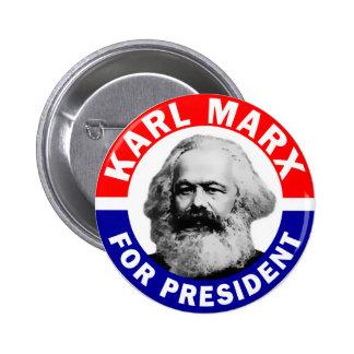 Karl Marx pour le président Badge