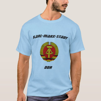 Karl-Marx-Stadt, RDA, Chemnitz, Allemagne T-shirt