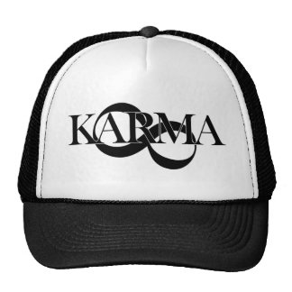 Karma avec le symbole d'infini casquettes de camionneur