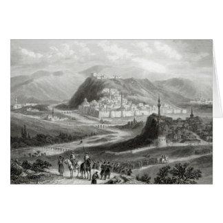 Kars, gravé par J. Godfrey, c.1860 Carte De Vœux