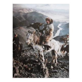 Kasachen de Mongolie carte postale