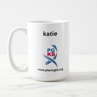 katie - étude dessus mug