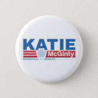 Katie Mcginty pour le bouton de sénat Badge
