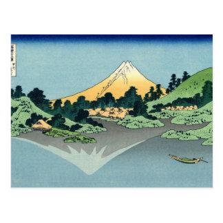 Katsushika Hokusai, cartes postales du mont Fuji