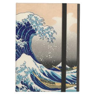 KATSUSHIKA HOKUSAI - La grande vague outre de