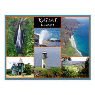 Kauai Hawaï Carte Postale