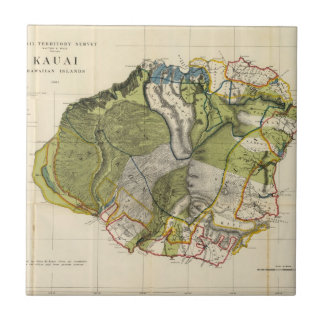 Kauai, Hawaï Petit Carreau Carré