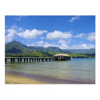 Kauai - le pilier chez Hanalei Carte Postale