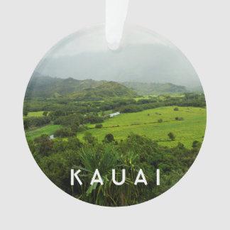 Kauai, photo du paysage 2 d'Hawaï et texte