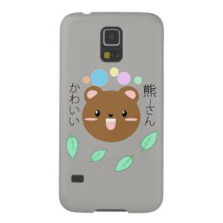 Kawaii/cas mignon d'Ours-Téléphone (choisissez la Protections Galaxy S5