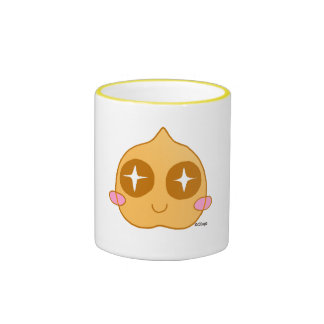 Kawaii de pois chiche mug ringer