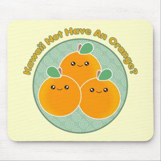 Kawaii ne pas avoir une orange ? tapis de souris