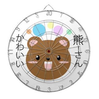 Kawaii/ours mignon cibles de fléchettes