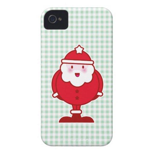 Kawaii Père Noël Coques Case-Mate iPhone 4