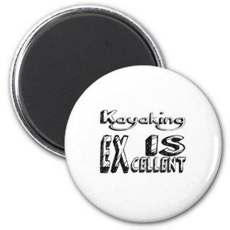 Kayaking est excellent aimant