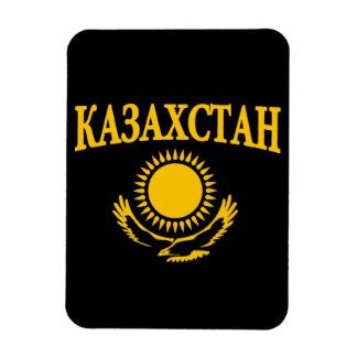 Kazakhstan Magnet Rectangulaire
