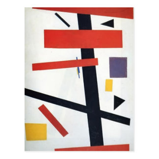 Kazimir Malevich- Suprematism Carte Postale