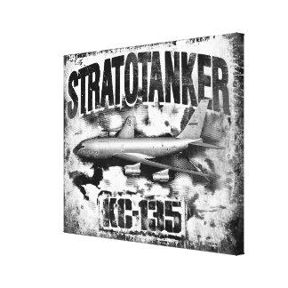 KC-135 Stratotanker a étiré la copie de toile