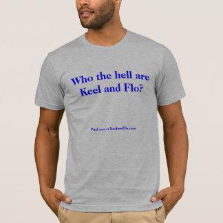 KeelandFlo.com qui sont quille et chemise de Flo T-shirt