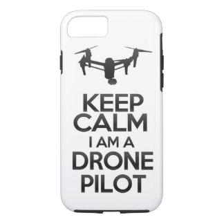 Keep Calm I Am Drone Pilot Coque iPhone 7