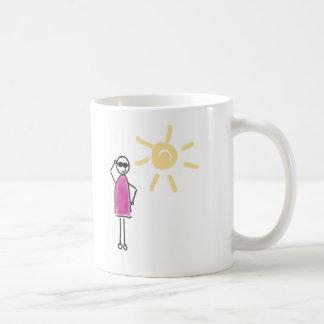 Keep cool. Le soleil brille ! Mug