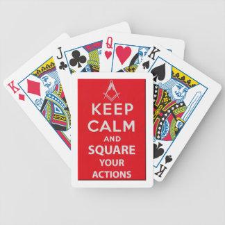 keepcalm cartes à jouer